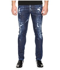 Dsquared Cool Guy American Pie Jeans In Blue