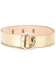 Dsquared2 Waist Belt Metallic