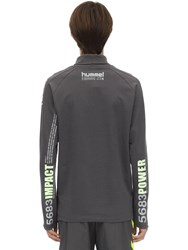 Hummel Willy Chavarria L S Turtleneck T Shirt Dark Grey