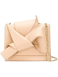 N 21 No21 Draped Front Tote Bag Nude And Neutrals