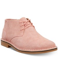 Kenneth Cole Reaction Men's Desert Sun Perforated Chukka Boots Men's Shoes Blush