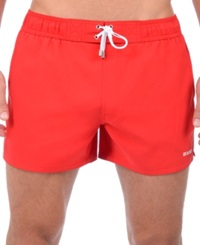 2Xist 2 X Ist Solid Ibiza Volley Shorts Salsa Red