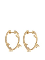 Elise Dray Topaz And Yellow Gold Earrings