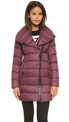 Mackage Yara Lightweight Down Jacket Bordeaux