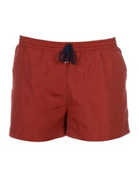 Suit Swim Trunks Maroon