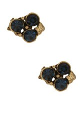 Yochi Design Montana Mini Cascade Earrings Blue