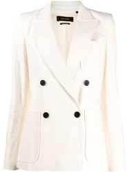 Isabel Marant Double Breasted Patch Pocket Blazer 60