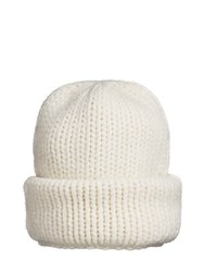 Superduper Hats Beanie One Wool Cream White
