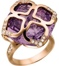 Chopard Imperiale 18Ct Rose Gold Amethyst And Diamond Ring