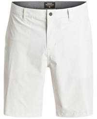 Quiksilver Men's Striker 3 Stretch Quick Dry Hybrid Shorts Sey0 Glaci