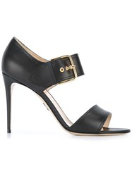 Paul Andrew Buckled Sandals Black