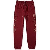 Tommy Jeans 6.0 Crest Sweat Pant M30 Burgundy