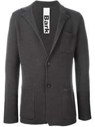 Bark Knit Blazer Grey