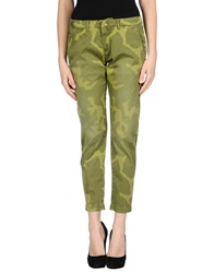 Monocrom Casual Pants Military Green