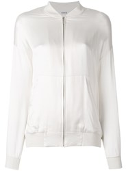 P.A.R.O.S.H. Safira Zip Up Jacket White