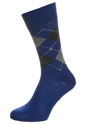 Burlington Edinburgh Socks Royal Blue