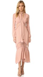 For Love And Lemons Lilou Dress Dusty Pink