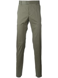 Les Hommes 'Pantalone' Trousers Green