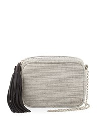 Lauren Merkin Meg Small Tweed Crossbody Bag Black