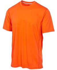 Ideology Id Mesh Performance T Shirt Only At Macy's Orange
