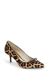 Michael Michael Kors 'Nancy' Pointy Toe Pump Women Brown