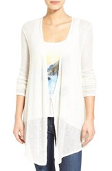 Volcom Women's 'Ready To Go' Open Cardigan