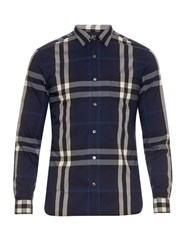 Burberry Long Sleeved House Check Shirt