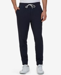 Nautica Men's Slim Fit French Terry Jogger Pants True Navy
