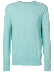 N.Peal Oxford Round Neck Sweatshirt Green