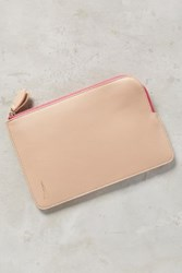 Anthropologie World City Vegan Leather Wallet Pink