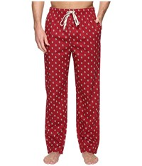 Original Penguin Single Woven Pants Biking Red Men's Pajama
