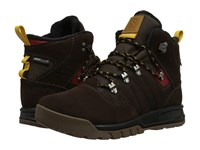 Salomon Utility Ts Cs Wp Trophy Brown Leather Absolute Brown X Sunny X Men's Shoes
