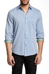 Gilded Age Franklin Shirt Blue