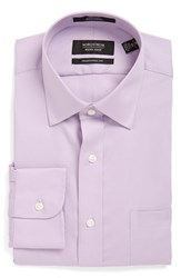 Men's Nordstrom Men's Shop Traditional Fit Non Iron Dress Shirt Lavender Spray