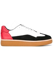 Alexander Wang Colour Blocked Lace Up Trainers