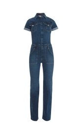 Frame Denim Mechanic Jumpsuit Blue