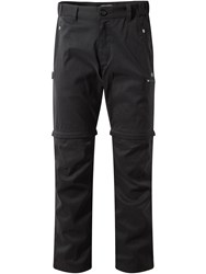 Craghoppers Men's Kiwi Pro Convertible Trousers Black