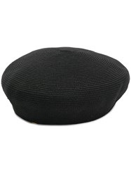 Ca4la Ribbed Hat Black