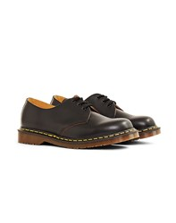 Dr Martens Made In England 1461 Vintage Shoe Black