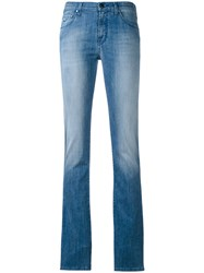 Jacob Cohen Kimberly Jeans Women Cotton Polyester Spandex Elastane Lyocell 32 Blue