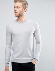 Hugo By Boss Sarmon Jumper Textured Knit Beige