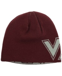 Top Of The World Virginia Tech Hokies Say What Reversible Knit Hat