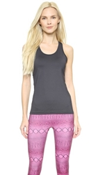 Prismsport Racer Back Top Charcoal