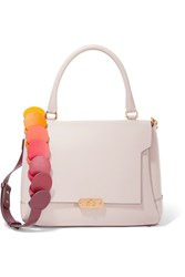 Anya Hindmarch Bathurst Small Leather Shoulder Bag Pastel Pink