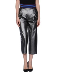 Jucca Casual Pants Silver