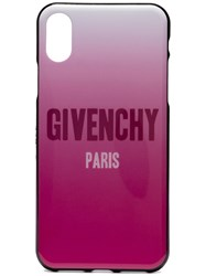 Givenchy Degrade Iphone 8 Case Pink And Purple