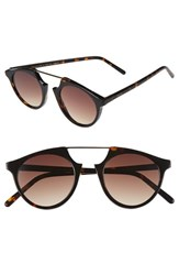 Spektre Women's 'Bel Air Flat' 47Mm Sunglasses Havana Gradient Tobacco Havana Gradient Tobacco