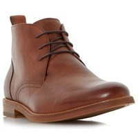 Dune Magnus Leather Boots Tan
