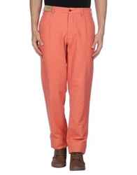 Cord Casual Pants Coral