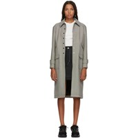 Alexachung Black And White Micro Houndstooth Coat